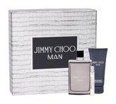 Jimmy Choo Jimmy Choo Man toaletní voda 100 ml + toaletní voda 7,5 ml + balzám po holení 100 ml