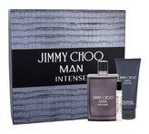 Jimmy Choo Jimmy Choo Man Intense toaletní voda 100 ml + toaletní voda 7,5 ml + balzám po holení 100 ml