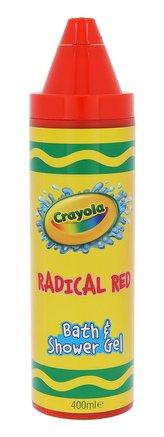 Crayola Bath & Shower Gel Sprchový gel 400 ml Radical Red pro děti