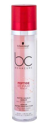 Schwarzkopf BC Bonacure Peptide Repair Rescue Olej a sérum na vlasy Nutri-Shield Serum 56 ml pro ženy