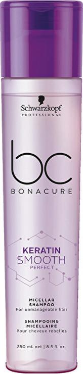Schwarzkopf BC Bonacure Keratin Smooth Perfect Šampon 250 ml pro ženy