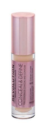 Makeup Revolution London Conceal & Define Korektor 4 g C6 pro ženy