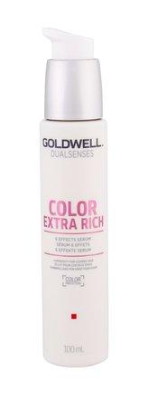 Goldwell Bezoplachové sérum na nepoddajné vlasy Dualsenses Color Extra Rich (6 Effects Serum) 100 ml pro ženy