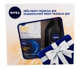 Nivea Q10 Plus denní pleťová péče 50 ml + noční pleťová péče 50 ml + micelární voda MicellAIR 400 ml