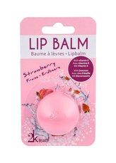 2K Beauty Balzám na rty 5 g Strawberry pro ženy
