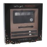 2K Let´s Get paletka očních stínů 6,6 g + aplikátor očních stínů 1 ks + tužka na oči 0,2 g 086 + tužka na oči 0,2 g 096