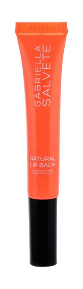 Gabriella Salvete Natural Lip Balm Balzám na rty 9 ml 01 Apricot pro ženy