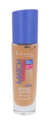 Rimmel London Match Perfection Makeup SPF20 30 ml 303 True Nude pro ženy