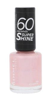 Rimmel London 60 Seconds Lak na nehty Super Shine 8 ml 210 Ethereal pro ženy