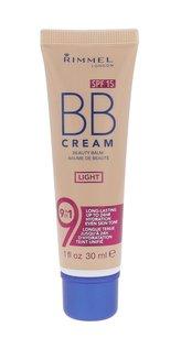 Rimmel London BB Cream BB krém 9in1 SPF15 30 ml Light pro ženy