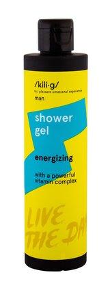 kili·g man Sprchový gel Energizing 250 ml pro muže