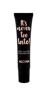 Alcina Intenzivní oční balzám proti vráskám It´s never too late! (Anti-Wrinkle Eye Balm) 15 ml woman