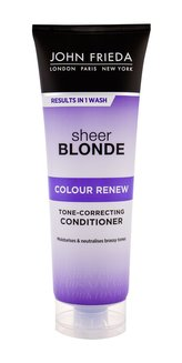 John Frieda Tónovací kondicionér pro blond vlasy Sheer Blonde Colour Renew (Tone-Correcting Conditioner) 250 ml woman