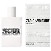 Zadig & Voltaire This is Her! Parfémovaná voda 30 ml pro ženy