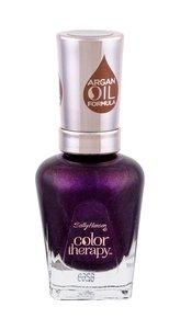 Sally Hansen Color Therapy Lak na nehty 14,7 ml 402 Plum Euphoria pro ženy