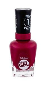 Sally Hansen Miracle Gel Lak na nehty STEP1 14,7 ml 680 Rhapsody Red pro ženy