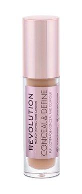 Makeup Revolution London Conceal & Define Korektor 4 g C11 pro ženy