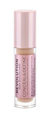Makeup Revolution London Conceal & Define Korektor 4 g C10 pro ženy