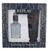 Replay Jeans Spirit! For Him toaletní voda 30 ml + sprchový gel 100 ml