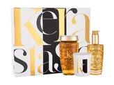 Kérastase Elixir Ultime zkrášlující olej 100 ml + šampon Elixir Ultime Le Bain 250 ml + vonná svíčka 100 g