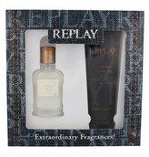 Replay Jeans Original! For Him toaletní voda 30 ml + sprchový gel 100 ml