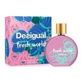 Desigual Fresh World Toaletní voda 100 ml pro ženy