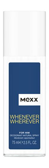 Mexx Whenever Wherever Men - deodorant s rozprašovačem 75 ml man