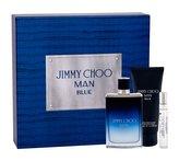 Jimmy Choo Jimmy Choo Man Blue toaletní voda 100 ml + toaletní voda 7,5 ml + balsam po holení 100 ml