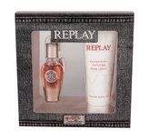 Replay True For Her parfémovaná voda 20 ml + tělové mléko 100 ml