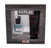 Replay Replay For Him toaletní voda 30 ml + sprchový gel 100 ml