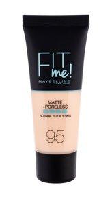 Maybelline Fit Me! Makeup Matte + Poreless 30 ml 95 Fair Porcelain pro ženy