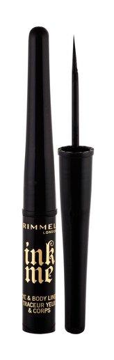 Rimmel London Ink Me Oční linka 3,5 ml 001 Black pro ženy