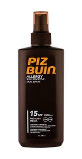 PIZ BUIN Allergy Opalovací přípravek na tělo Sun Sensitive Skin Spray 200 ml SPF15 pro ženy
