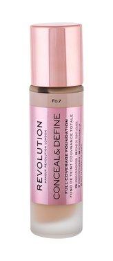 Makeup Revolution London Conceal & Define Makeup 23 ml F0,7 pro ženy