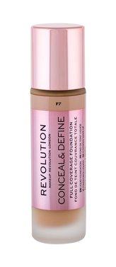Makeup Revolution London Conceal & Define Makeup 23 ml F7 pro ženy