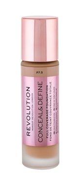 Makeup Revolution London Conceal & Define Makeup 23 ml F7,5 pro ženy