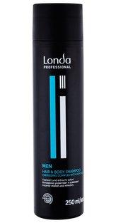 Londa Professional MEN Šampon Hair & Body 250 ml pro muže