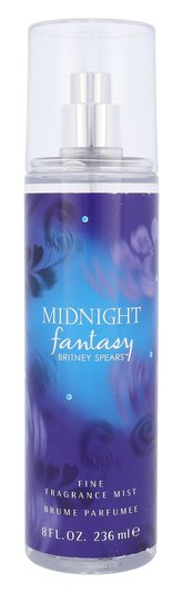 Britney Spears Fantasy Midnight Tělový sprej 236 ml pro ženy