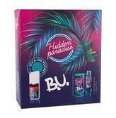 B.U. Hidden Paradise - EDT 50 ml + deodorant ve spreji + nálepka na mobil woman