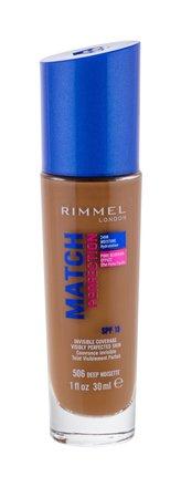 Rimmel London Match Perfection Makeup 30 ml 506 Deep Noisette SPF15 pro ženy