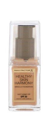 Max Factor Healthy Skin Harmony Makeup 30 ml 77 Soft Honey SPF20 pro ženy