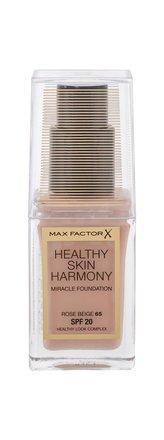 Max Factor Healthy Skin Harmony Makeup 30 ml 65 Rose Beige SPF20 pro ženy