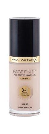 Max Factor Facefinity Makeup 3 in 1 30 ml 10 Fair Porcelain SPF20 pro ženy