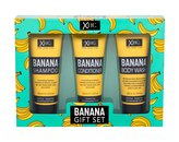 Xpel Banana šampon 100 ml + kondicionér 100 ml + sprchový gel 100 ml