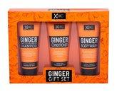 Xpel Ginger šampon 100 ml + kondicionér 100 ml + sprchový gel 100 ml