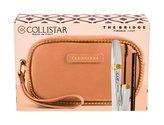 Collistar Shock řasenka 8 ml + tužka na oči Kajal Pencil 0,8 g Black + kosmetická taštička The Bridge