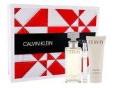 Calvin Klein Eternity parfémovaná voda 100 ml + tělové mléko 100 ml + parfémovaná voda 10 ml
