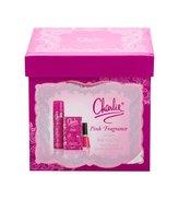Revlon Charlie Pink toaletní voda 30 ml + tělový sprej 75 ml + lak na nehty Nail Enamel 14,7 ml Sweet Tart