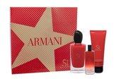 Giorgio Armani Si parfémovaná voda 100 ml + parfémovaná voda 15 ml + tělové mléko 75 ml