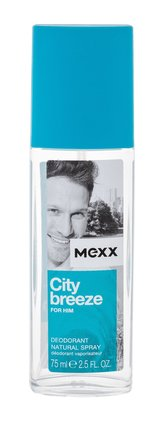 Mexx City Breeze for Him Deodorant 75 ml pro muže